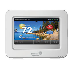 Residential High-res. Color Touch Screen Room Thermostat Product Image