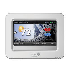 Commercial High-res. Color Touch Screen Room Thermostat Product Image