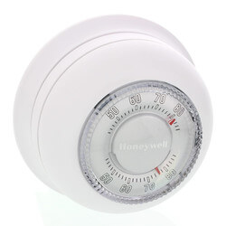 Round Non-Programmable, Heat Only, Mechanical Thermostat