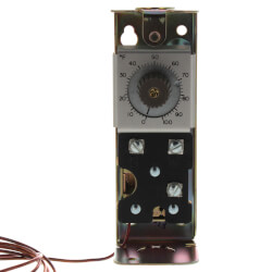 Modulating Temperature Controller, 0 F to 100 F (5 Ft Capillary)