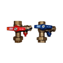 Lead Free Isolation Valve Kit, Includes PRV (TK-IV-01-AB)