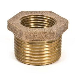 "1/4""x 1/8"" MIP x FIP Brass Bushing (Lead Free) Product Image"