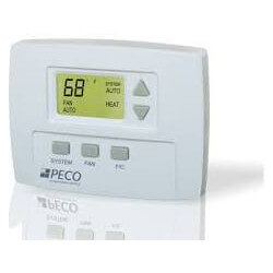7-Day Non-Programmable, 1 Heat/1 Cool, 3 Staged Fan Speed Thermostat Product Image