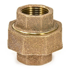 "1-1/2"" FIP Brass Union"