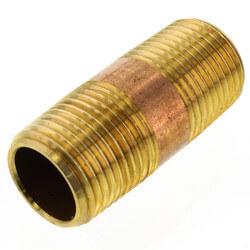 """3/8""""x 1-1/2"""" Brass Nipple"""