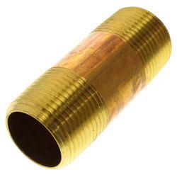 """3/4""""x 2-1/2"""" Brass Nipple"""