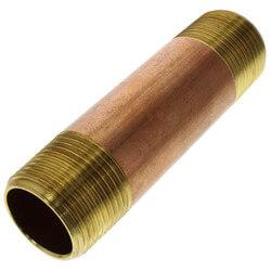 """3/4""""x 3-1/2"""" Brass Nipple"""