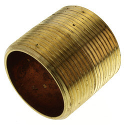 "1-1/2""x Close Brass Nipple"