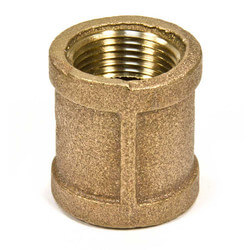 "1-1/4"" FIP Brass Coupling (Lead Free) Product Image"