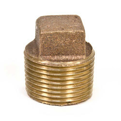"1"" Brass Sq Head Plug"