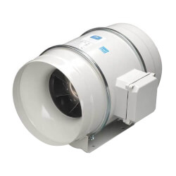 "TD-MIXVENT 12.4"" Mixed Flow Duct Fan (115V, 2000/2500 RPM, 208/335W) Product Image"