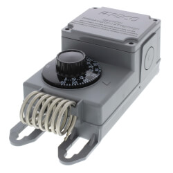 Line Volt Mechanical Thermostat w/ SS Bulb (-30°F - 100°F) Product Image