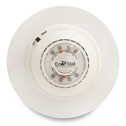 Ecostat Non-Programmable Easy Temp Heat Only Mechanical Thermostat