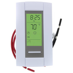 7 Day Programmable Line Volt Thermostat for Electric Heating