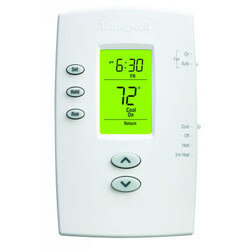 PRO 2000 Programmable, 2H/1C, Vertical Thermostat Product Image