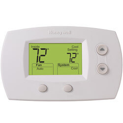 FocusPro Non-Programmable, 2H/2C, Large Display Thermostat