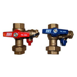 "Lead Free Isolation & Pressure Relief Valves, 3/4"" FNPT x FNPT (T-M32)"