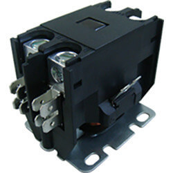 1 Pole DP Contactor, 24 Volt Coil, 25 Amp Product Image