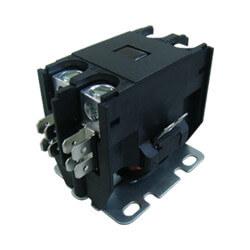 1 Pole DP Contactor, 208/240 Volt Coil, 25 Amp Product Image