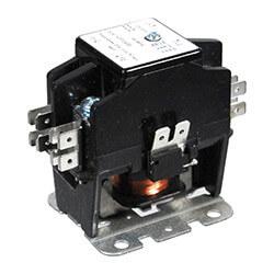 2 Pole DP Contactor, 120 Volt Coil, 25 Amp Product Image