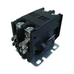 2 Pole DP Contactor, 208/240 Volt Coil, 25 Amp Product Image
