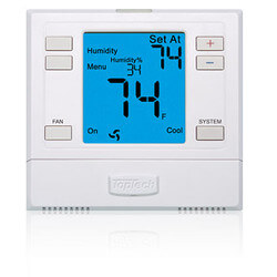 Top Tech Thermostat<br>5/2 Programmable<br>(1 Heat/ 1 Cool) Product Image