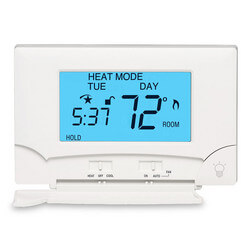 7-Day Programmable Smart Temp Heating & Cooling Touchscreen Thermostat