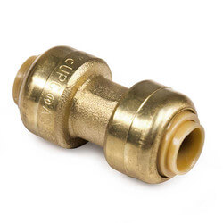 "1/4"" x 1/4"" Sharkbite Coupling (Lead Free)"