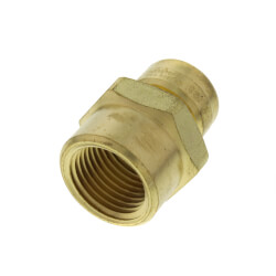 """1/4"""" x 1/2"""" Pipe to Female Pipe Thread Connector (Lead Free) Product Image"""