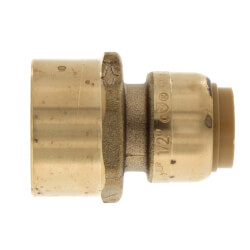 """1/2"""" Sharkbite x 3/4"""" Female Reducing Adapter (Lead Free) Product Image"""