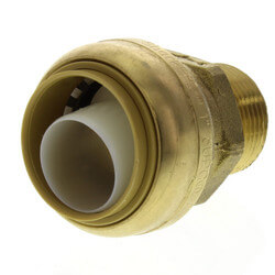"""1"""" Sharkbite x 3/4"""" Male Reducing Adapter (Lead Free) Product Image"""