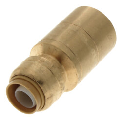 "1/2"" x 1"" SharkBite CTS Fitting Reducer (Lead Free)"