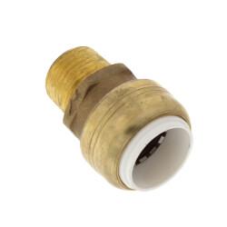"1/2"" Sharkbite PVC x 1/2"" MNPT Male Adapter Product Image"
