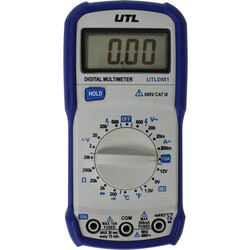 UTLDM1, UTL Brand Trade line Digital Multimeter with Temperature Product Image