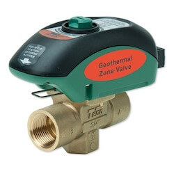 "3/4"" Geo-Sentry GeoThermal Zone Valve - Sweat, Normally Closed"