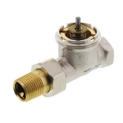 """1/2"""" Straight Valve for High Capacity Radiator Product Image"""