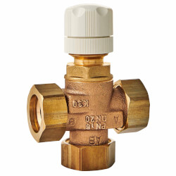 "1-1/2"" 3-Way Mixing Valve (Male NPT Union) Product Image"