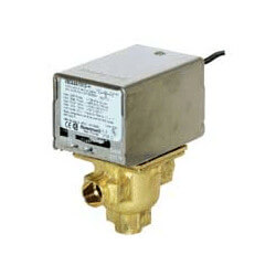 "1/2"" Sweat 3-Way Zone Valve, port A N/C<br>Bottom Inlet (120V) Product Image"