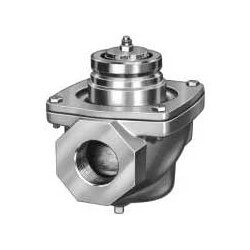 "2-1/2"" NPT High Pressure Industrial Gas Valve w/ On-Off Safety Shut-Off w/ Double Seal"