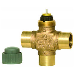 "1/2"" Three Way Cartridge Globe Valve (.29 Cv) Product Image"