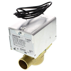 """3/4"""" Sweat Connection Zone Valve, N/C (24V) Product Image"""