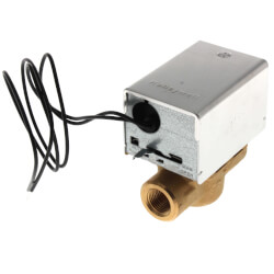 """1/2"""" NPT Connection Zone Valve, N/C (24V) Product Image"""