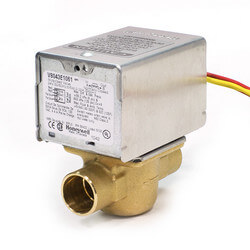 "3/4"" Sweat Connection Zone Valve, normally closed, 8 Cv (24v)"