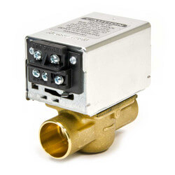 "1"" Sweat Zone Valve w/ Terminal Block connection Product Image"
