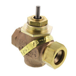"1/2"" Union Straight Valve (1.3 cv) Product Image"