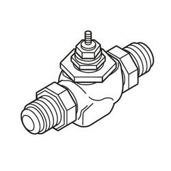 "2-1/2"" Cast Iron Flanged Valve (56 cv) Product Image"