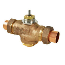 "1"" Union Sweat 2-Way Valve (14 cv) Product Image"