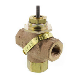 "1/2"" NPT 3-Way Mix Valve Product Image"
