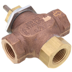 "1/2"" NPT 3-Way Diverting Valve Body Product Image"