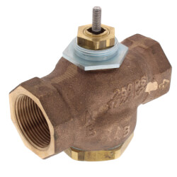 "1-1/4"" NPT 3-Way Diverting Valve Body<br>(20 cv) Product Image"
